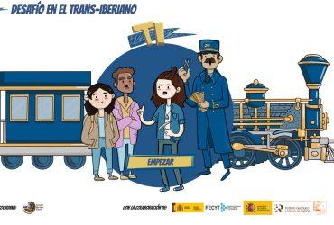 Portada del juego Desafío en el Trans-Iberiano